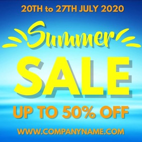 Summer Sale Video Template
