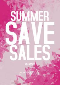 Summer sales ad
