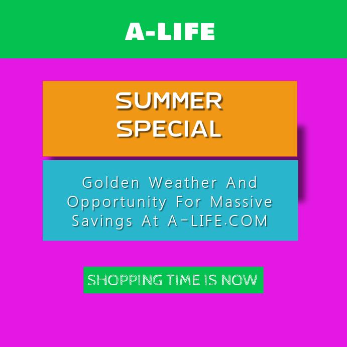 Summer Sales Template