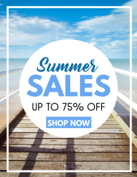 summer sales up to 75% off