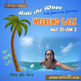 Summer Savings Sale Video