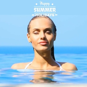 SUMMER SEA VIDEO TEMPLATE