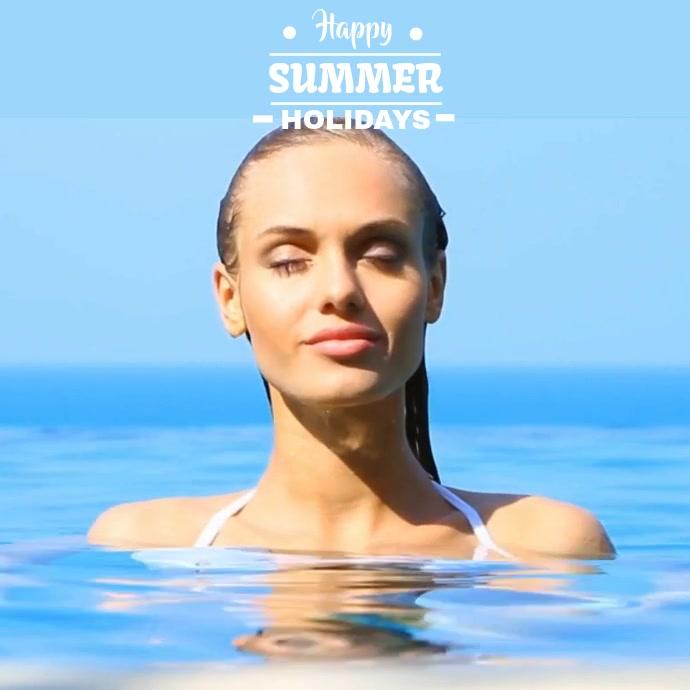 SUMMER SEA VIDEO TEMPLATE