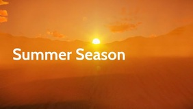 Summer Season Poster Video template