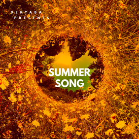 Summer Song CD Cover Template