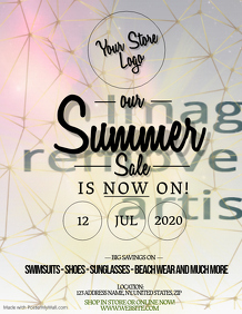 Summer Store Sale Flyer Template