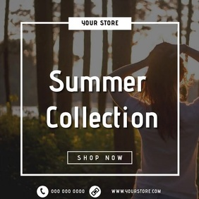 SUMMER STORE SHOP AD TEMPLATE