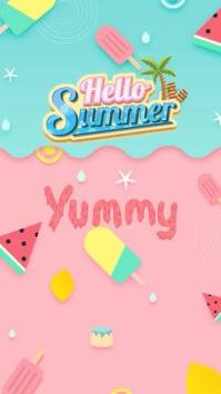 Summer Template Instagram Story