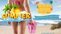 Summer Template Digitalanzeige (16:9)