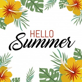 Summer templates, Sale templates