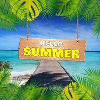 Summer templates,spring Cuadrado (1:1)