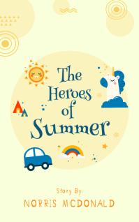 Summer Themed Children's Book Cover