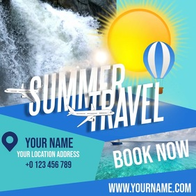 SUMMER TRAVEL AD TEMPLATE Logotipo