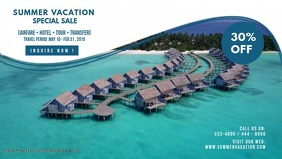 Summer Travel Agency Advertisement