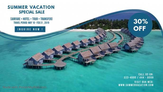 Summer Travel Agency Advertisement