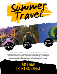 Summer Travel Flyer