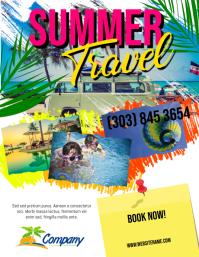 Summer Travel Flyer