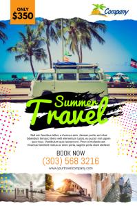 Summer Travel Poster Template
