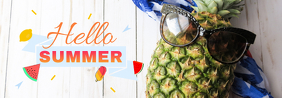 Summer Tumblr Banner template