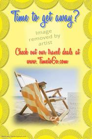 Summer Vacation Travel Poster Flyer Summer Camp Swim