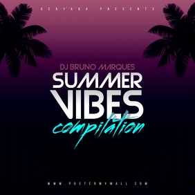 Summer Vibes Compilation The Mixtape CD Cover