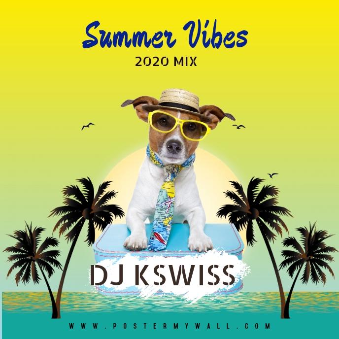 SUMMER VIBES DANCE MIX AFRO MUSIC Sampul Album template