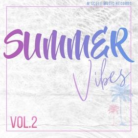 Summer vibes palms album cover art 2