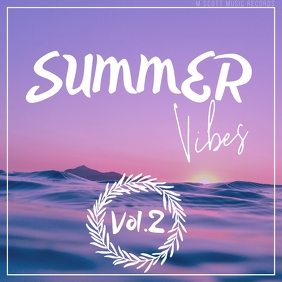 Summer vibes sea album cover