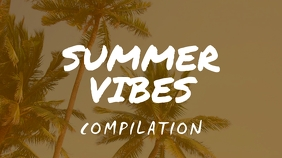Summer Vibes Youtube Thumbnail