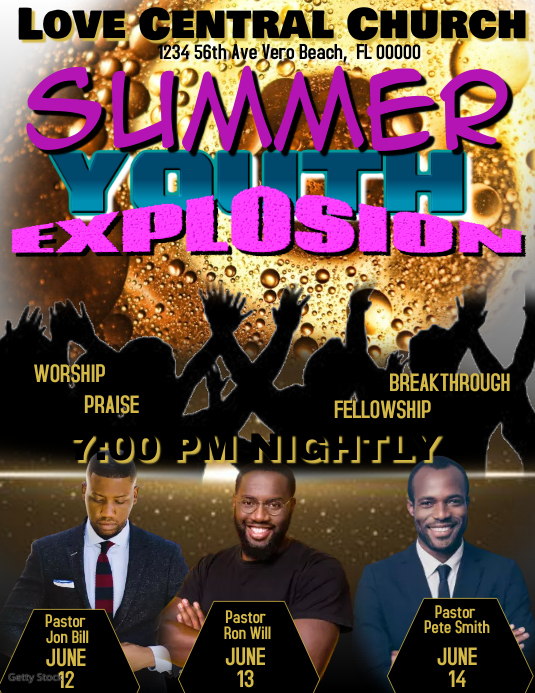 Summer Youth Explosion
