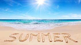 Summer - Zoom Meeting Background