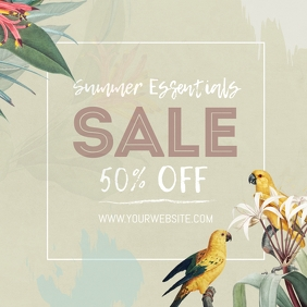 Summery Sale Square