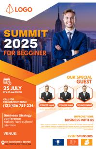 Summit flyer design template