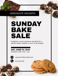 Sunday Bake Sale Template