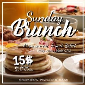 Sunday Brunch Breakfast Buffet Video Bacon