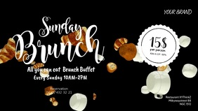 Sunday Brunch breakfast Video Event Ad Coffee