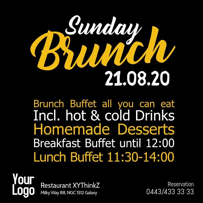 Sunday Brunch Buffet Breakfast Restaurant
