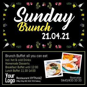 Sunday Brunch Buffet Breakfast Video Restaurant
