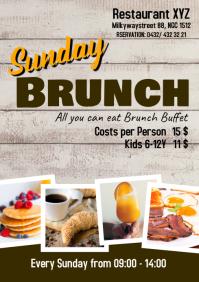 Sunday Brunch Buffet Flyer