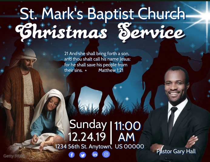 Sunday Christmas Service