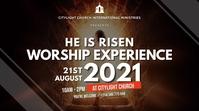 sunday church flyer 数字显示屏 (16:9) template