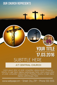 sunday church flyer