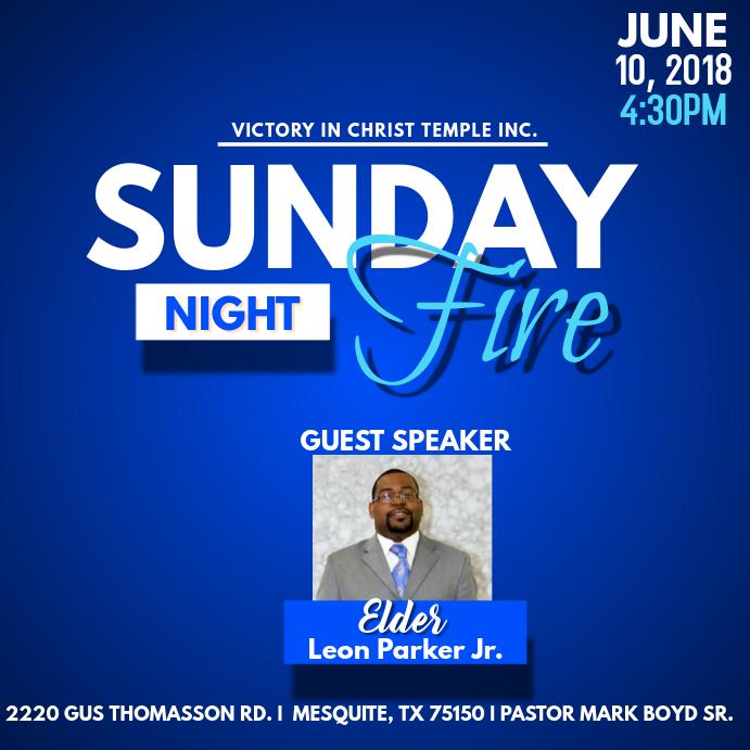 Sunday Night Fire