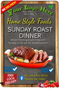 Sunday Roast Dinner Beef Take-Away
