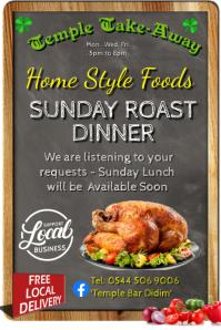 Sunday Roast Dinner Take-Away