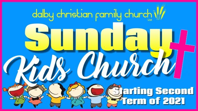 Sunday School 演示(16:9) template