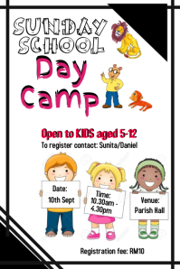 Sunday School Flyer
