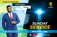 Sunday Service Label template