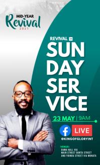 Sunday service US Legal template