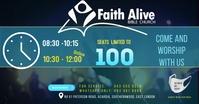 Sunday Service Update Facebook Ad template